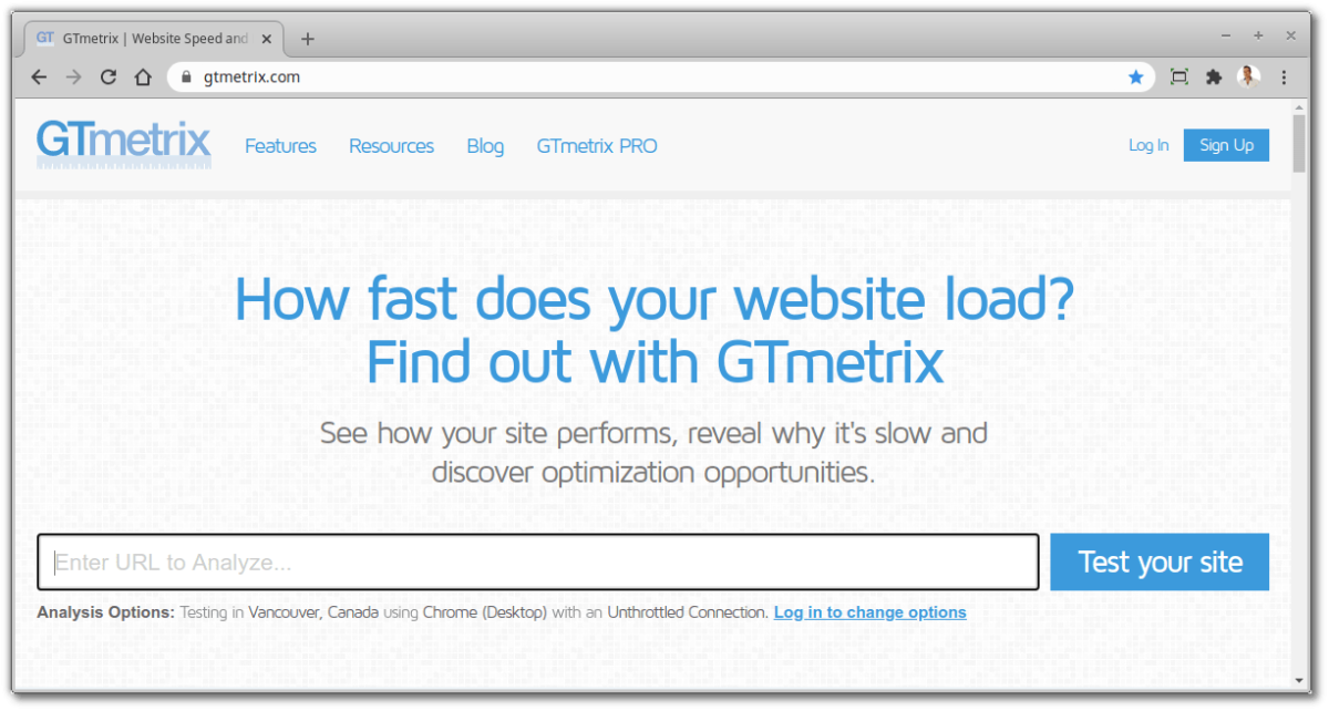 Free Online Developer Tools - GTmetrix