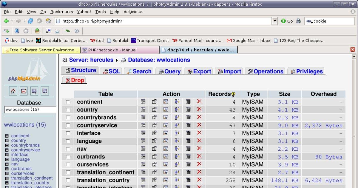 Easy Setup of a Development Database For Beginners - PHPMyAdmin