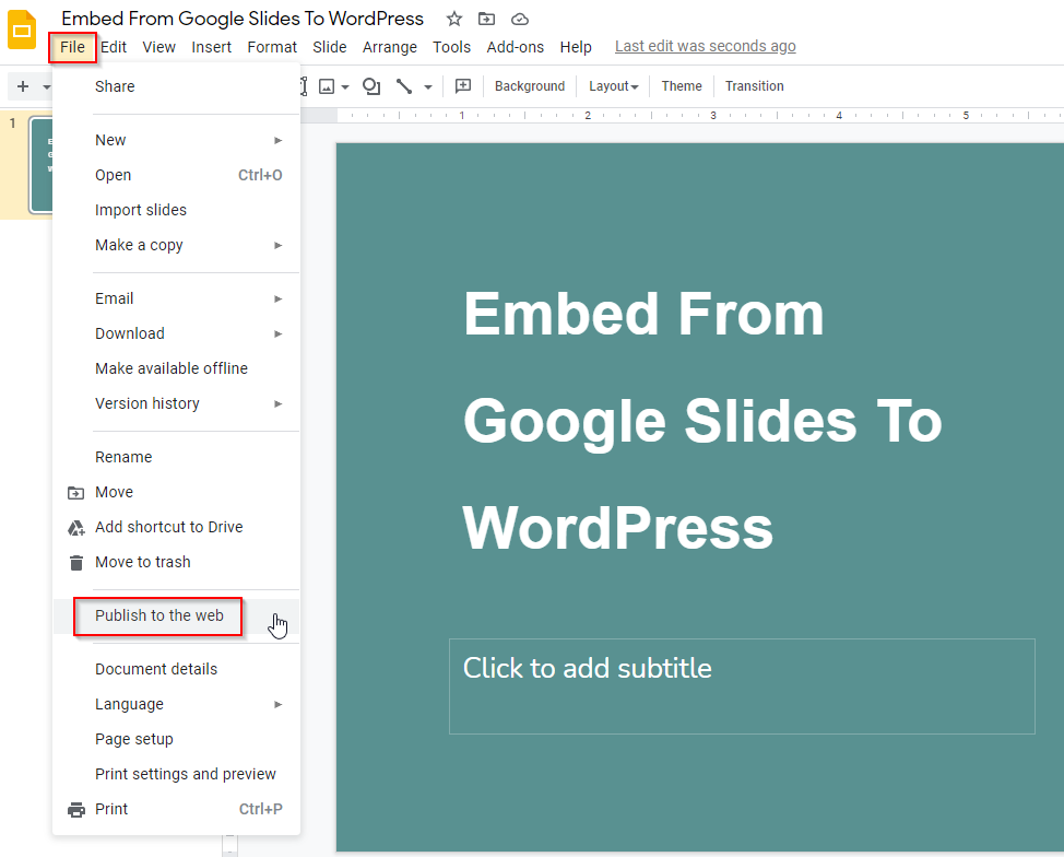 How To Insert Slideshow Presentations On WordPress